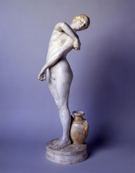 Jean-Léon Gérôme, Bathsheba (ca.1895) Plaster, 33 1/16 inches Dahesh Museum of Art, New York. 2002.17