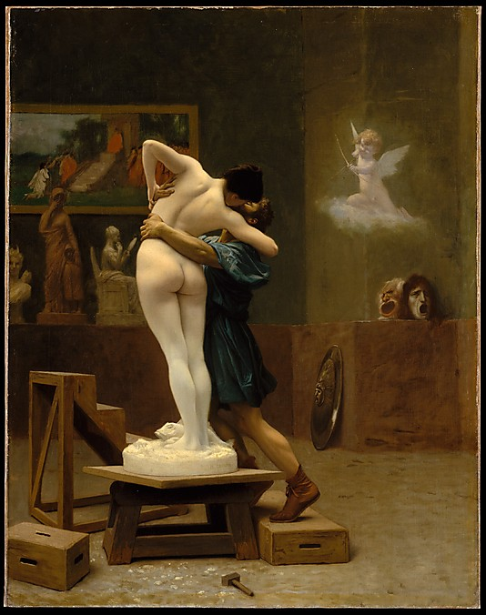 Jean-Léon Gérôme, Pygmalion and Galatea (ca. 1890)