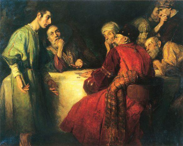 János Pentelei Molnár The Thirty Pieces of Silver, 1909
