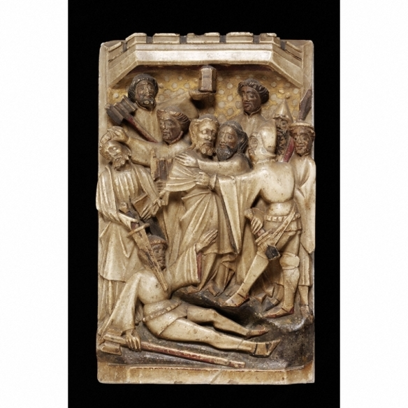 The Betrayal, c. 1400-20 Courtesy of the Victoria and Albert Museum
