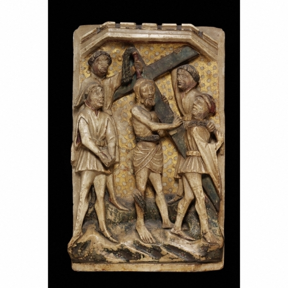 Christ Carrying the Cross, c. 1400-20 Courtesy of the Victoria and Albert Museum
