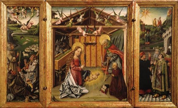 García del Barco, Triptych of the Nativity (1475-1500)